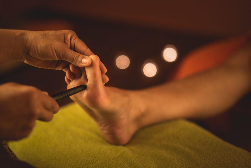 baimai-thajská masáž nohou